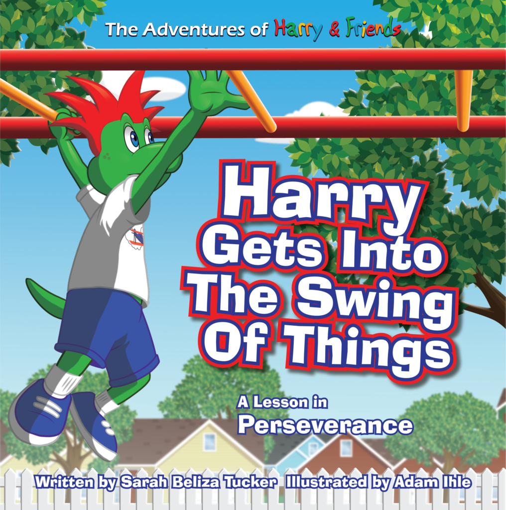 Harry Gets Into The Swing Of Things - a lesson in perseverance
